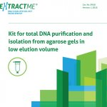 EXTRACTME DNA CLEAN-UP & GEL-OUT MICRO SPIN KIT (EM28)